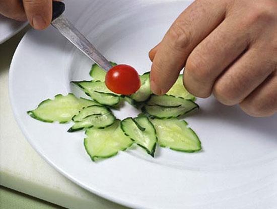 Украшение для салатов с рецептами 38