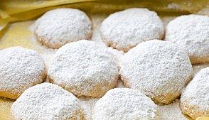 Печенье с лимоном и белым шоколадом