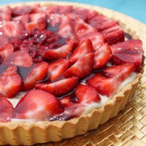Рецепт клубничного пирога