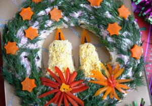 Салат «Веночек Рождественский»