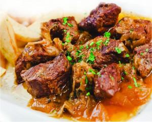 блюдо «Стифадо»