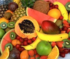 Овощи и фрукты против целлюлита