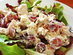 Новогодние салаты: «Праздничный салат»
