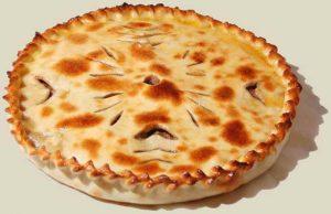 Рецепт пирога с мясом и грибами