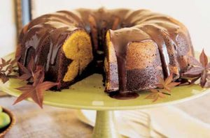Рецепт мраморного шоколадного пирога