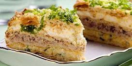 закусочный слоеный торт «Наполеон»