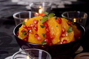 Рецепт апельсинового салата