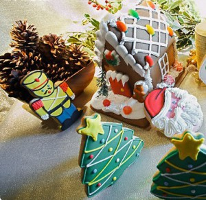 домик из печенья