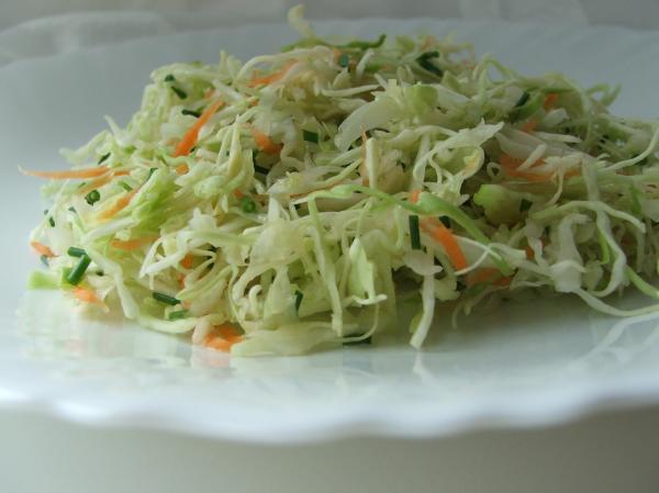 Салат капуста морковь перец уксус рецепт