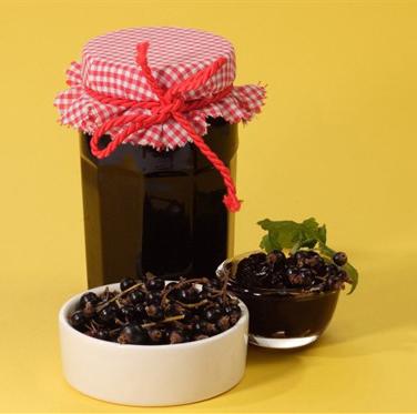 Варенье из черной смородины (пятиминутка, желе)
