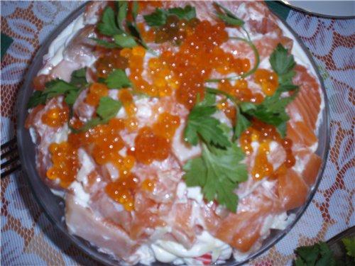 салат царский с курицей рецепт с фото