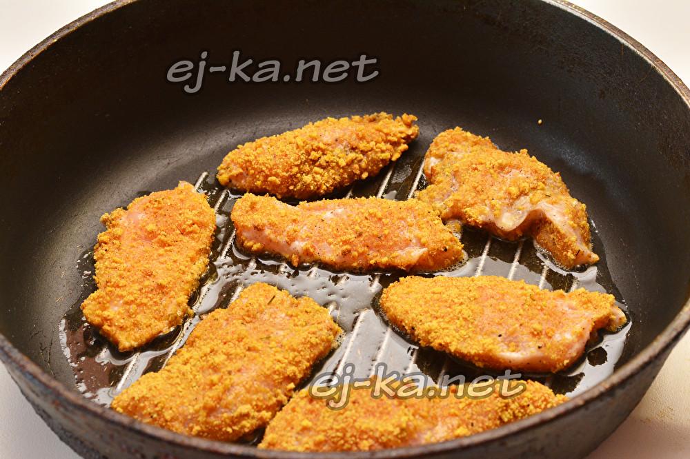 Блюда из куриного филе на сковороде рецепты