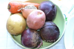 Сварить овощи