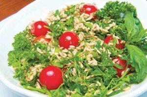 Салат с овсом