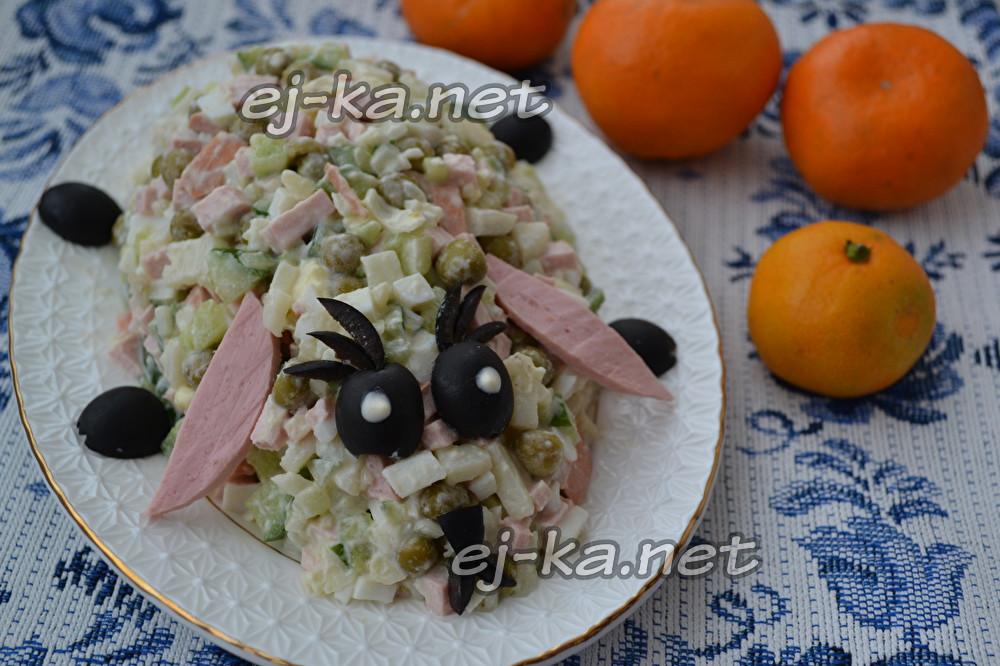 Интересные рецепты новогодних салатов