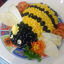 Как украсить салат
