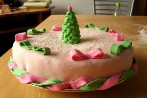 Торт на Новый год 2015
