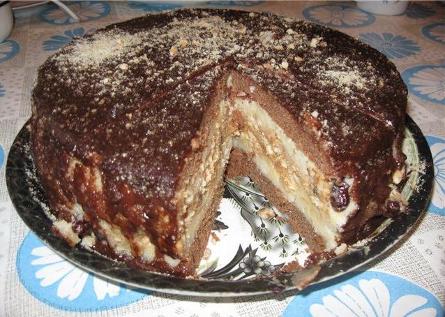 Торт сникерс в мультиварке рецепт в домашних условиях