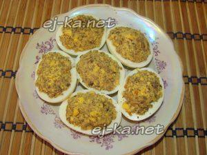 афаршировать яйца