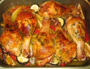 Куриные ножки в духовке