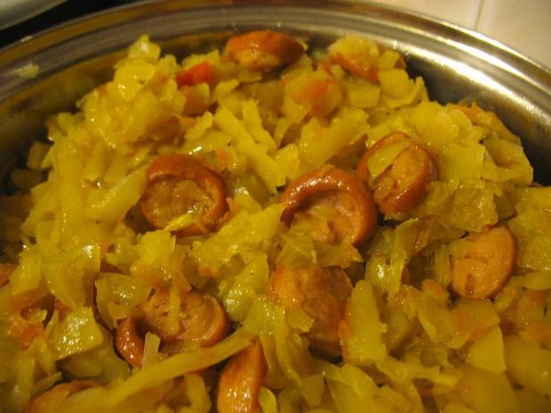 солянка с капустой рецепт приготовления