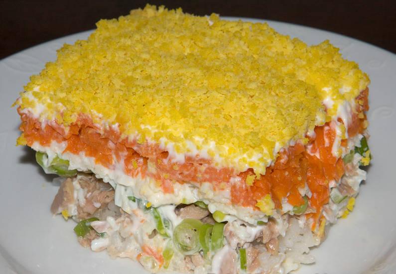 Мимоза салат рецепты классический с сыром