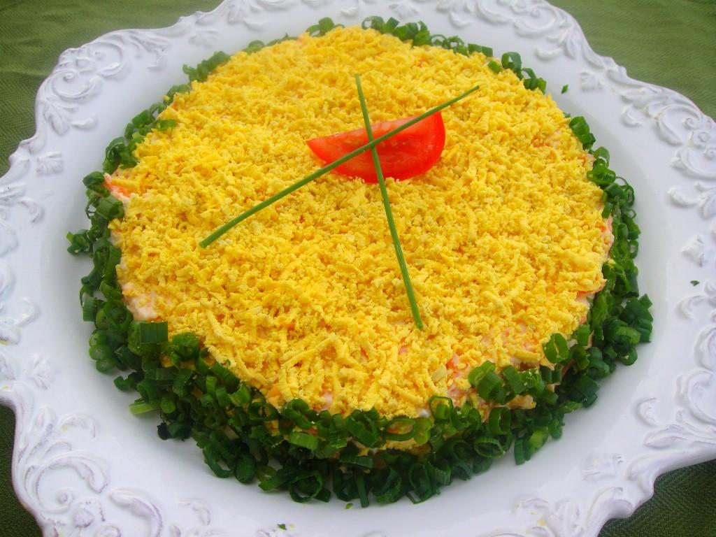 Салат мимоза с горбушей классический рецепт