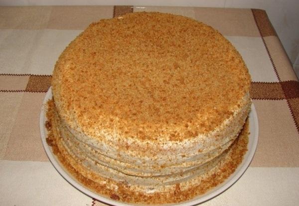 Вкусный торт на сковороде