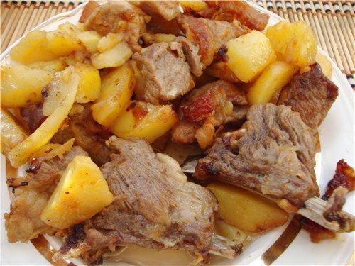Салат из курицы с орехами и сыром и яблоком рецепт