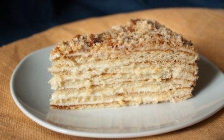 торт на сковороде рецепт со сгущенкой