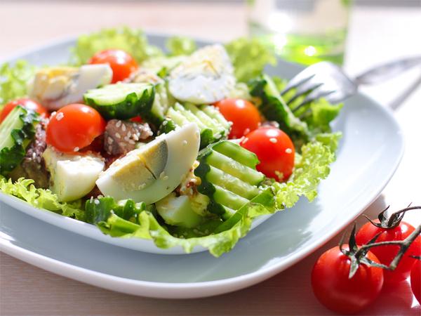 Рецепты салаты овощные 159