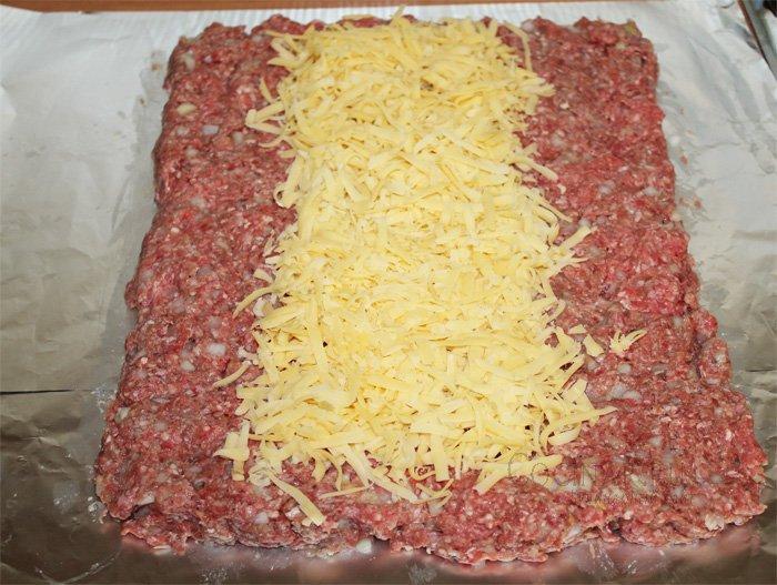 рулет мясной с начинкой рецепт с фото