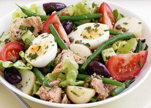 какие легкие салаты приготовить