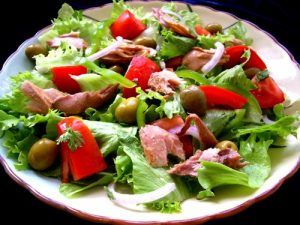 рецепты приготовления легких салатов