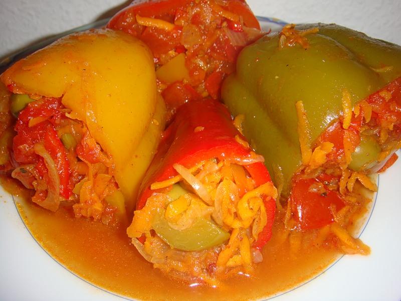 рецепт фаршированных перцев овощами на зиму образом, белье