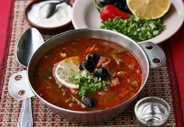 вкусная мясная солянка рецепт классический