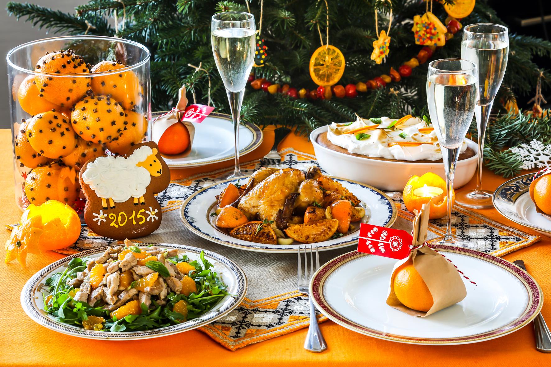 Новогодний стол  2018 года что должно быть на столе рецепты