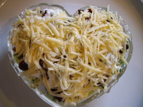 Рецепт салата хе с капустой