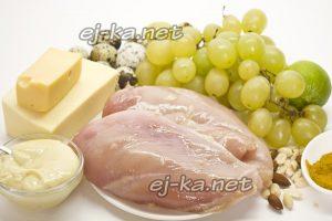 """Ингредиенты для салата """"Тиффани"""""""