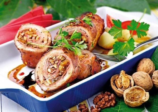 Горячие блюда из мяса рецепты на новый год 2017