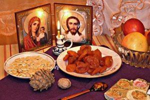 рождественский пост 2015 календарь питания по дням