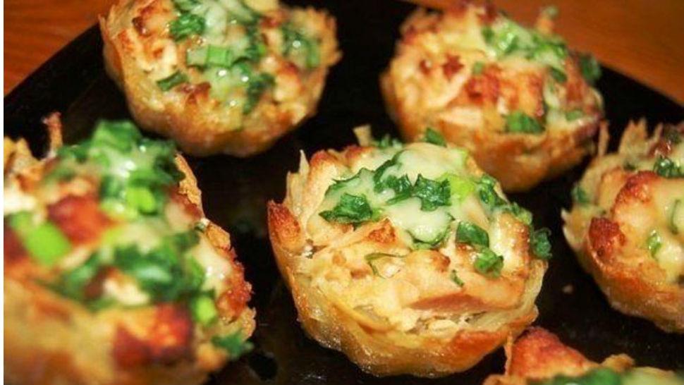 Хрустящий картофельный омлет рецепт