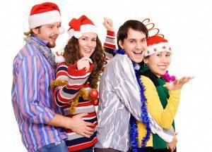 Конкурсы на Новый год 2016, новогодние игры и развлечения