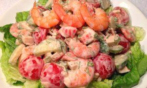 вкусные рецепты новогодних салатов