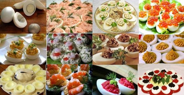 Рецепты блюд для новогоднего стола