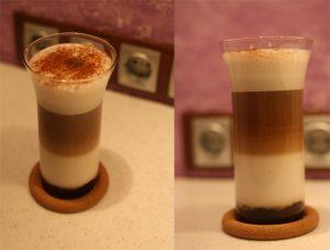 домашний рецепт кофе латте