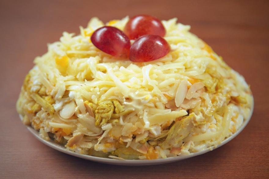 Кулинария рецепты салатов крабовые палочки
