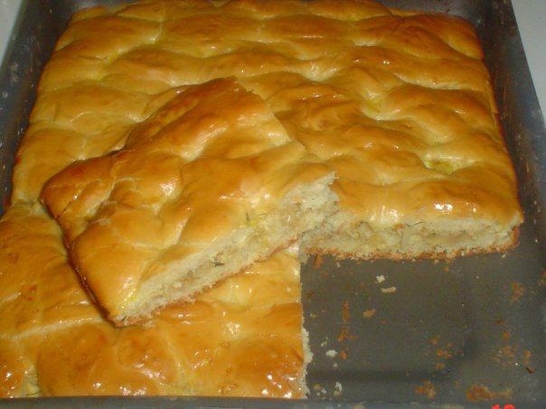 Пирог на дрожжах рецепт пошагово в духовке
