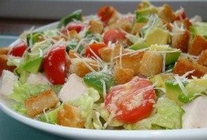 Салат цезарь в домашних условиях рецепт