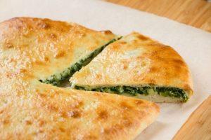Осетинский пирог с сыром и зеленью приготовление